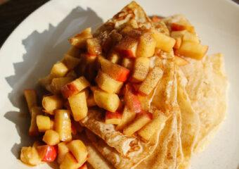 pannenkoek met appel